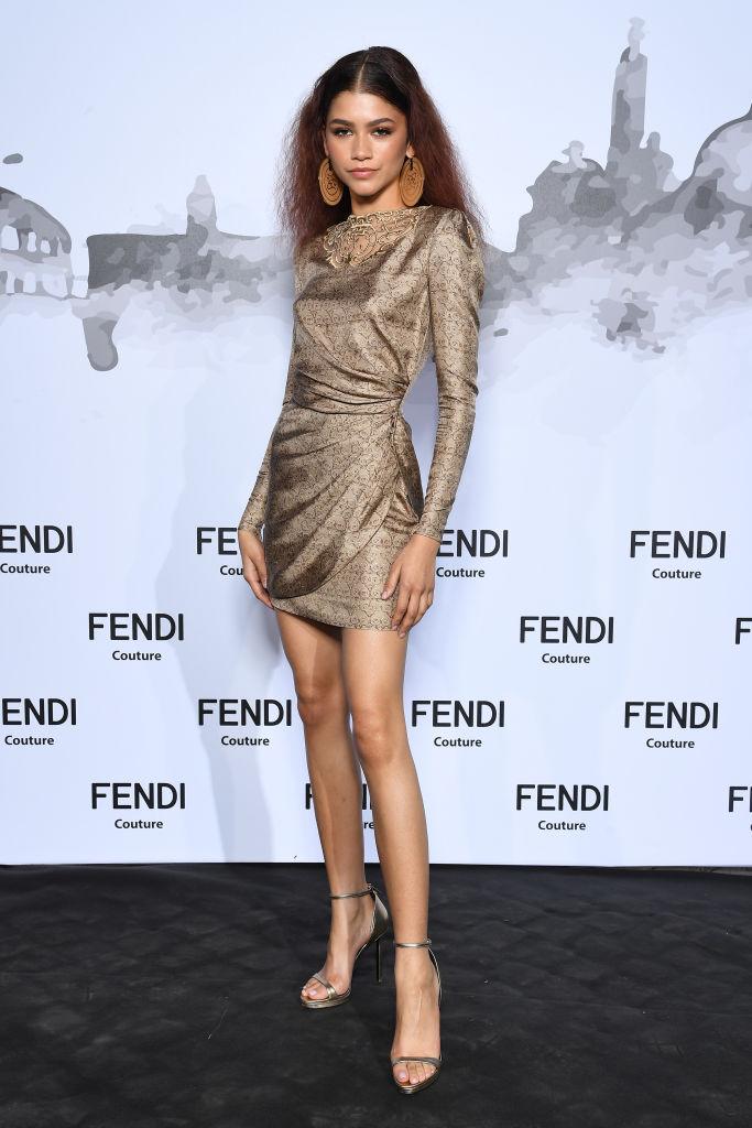 Zendaya at the Fendi Couture Fall Winter 2019/2020, 2019