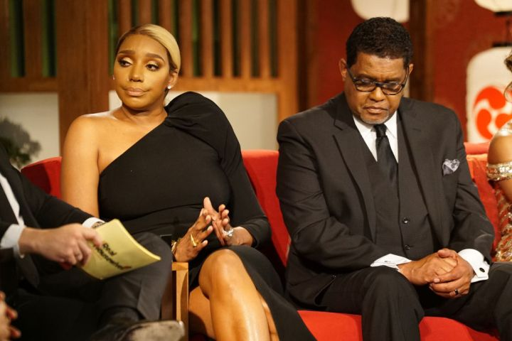 NeNe and Gregg Leakes at The Reunion