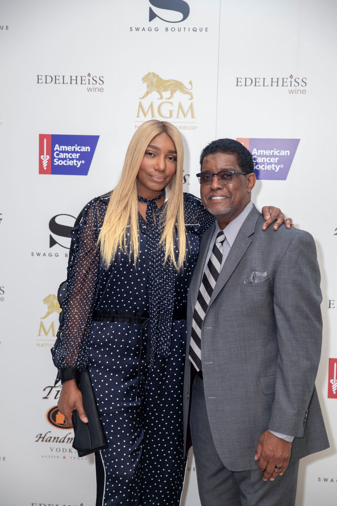 NeNe and Gregg Leakes at the opening of SWAGG Retail Store At MGM National Harbor