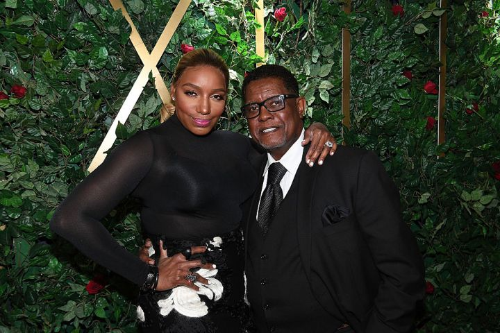 NeNe Leakes and Greg Leakes attend Celebration For A Cure at Center Stage