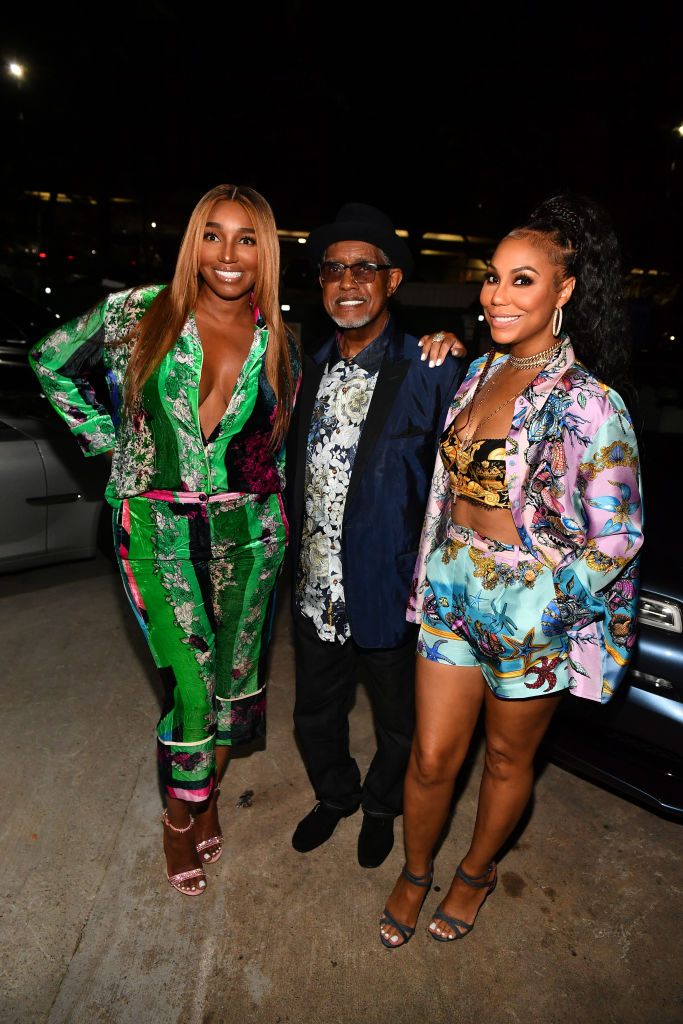 Nene Leakes and Gregg Leakes at the Grand Opening of Linnethia Lounge
