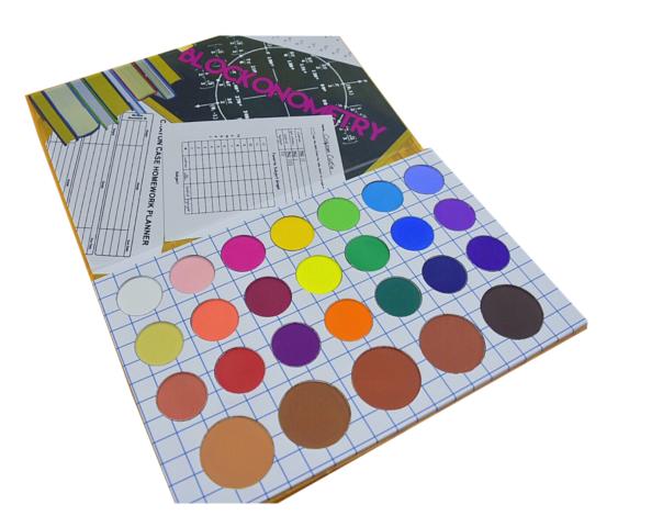 The Crayon Case The Matte Book Palette