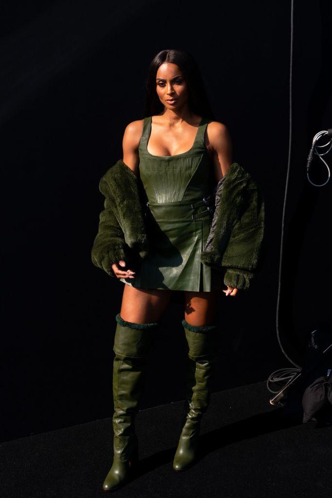 Ciara at the Dundas x REVOLVE Show for NYFW