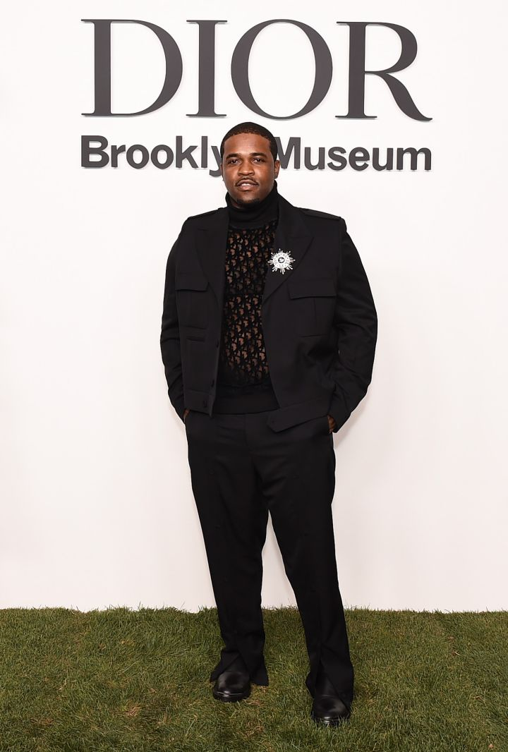 A$AP Ferg at the Christian Dior Designer Of Dreams Exhibition Cocktail Opening