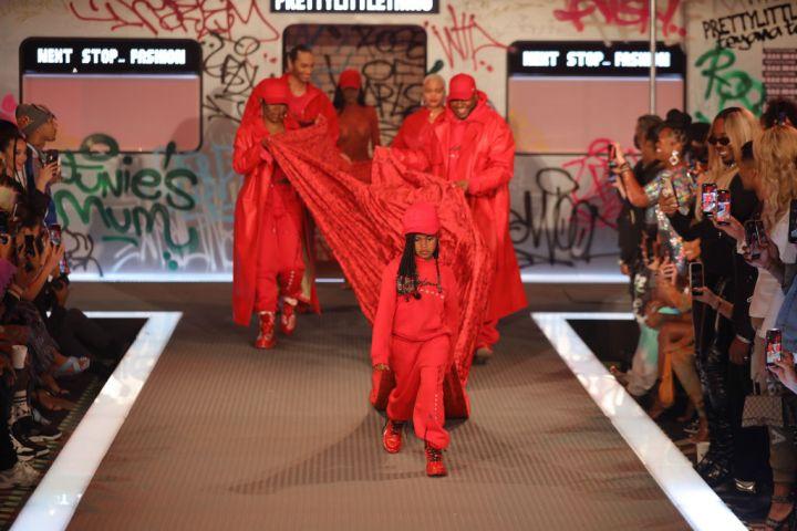 PrettyLittleThing: Teyana Taylor Collection II New York Fashion Week - Runway