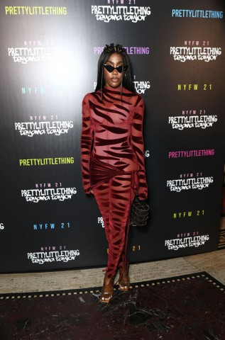 PrettyLittleThing: Teyana Taylor Collection II New York Fashion Week - Front Row/Backstage
