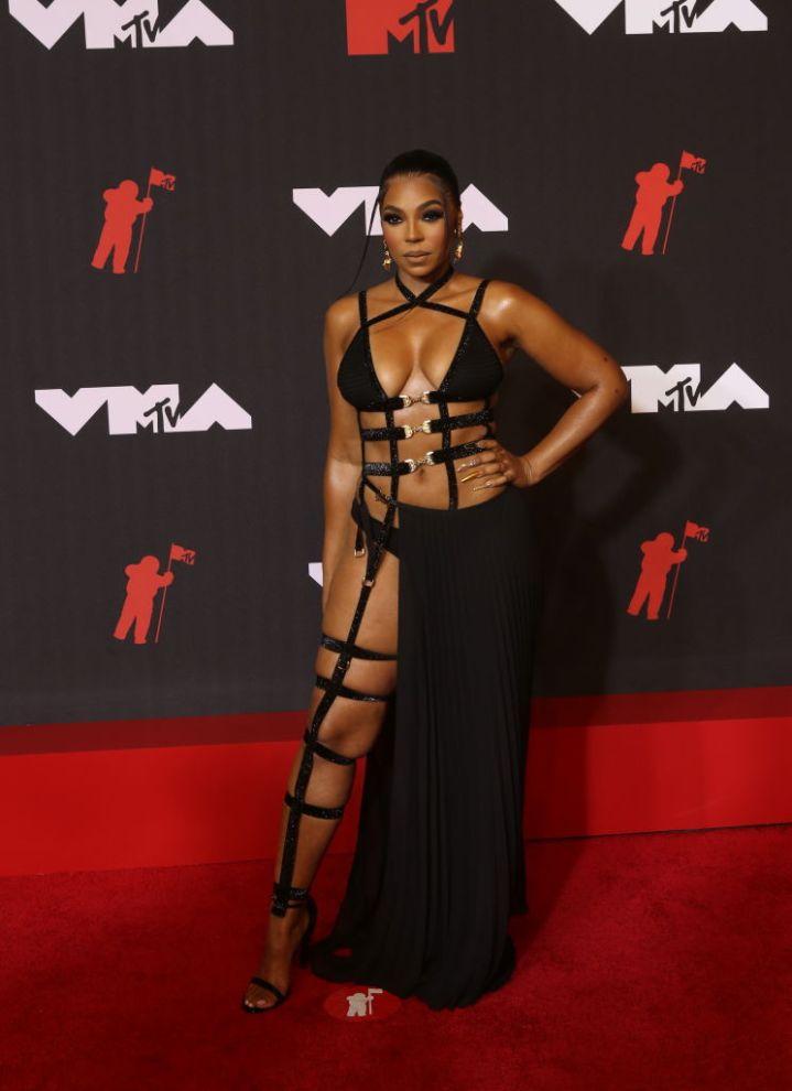 Ashanti At The 2021 MTV VMAs