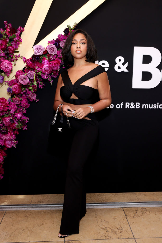 JORDYN WOODS AT SPOTIFY'S HOUSE OF ARE & BE EVENT, 2021