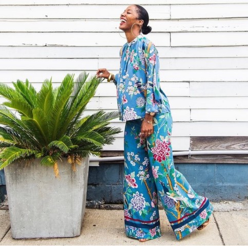 Five Ways To Rock A Floral Pattern This Fall