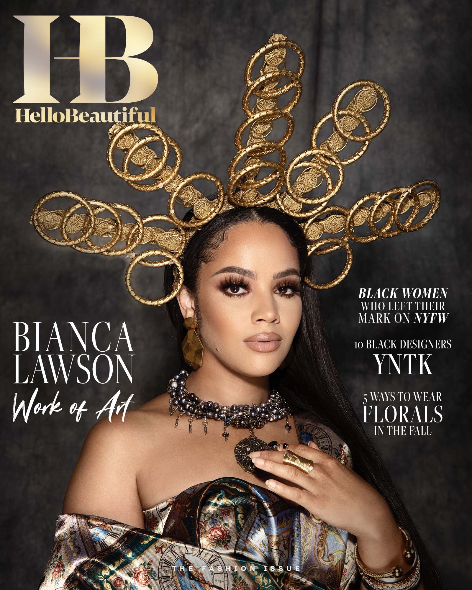 """Bianca Lawson """"The Fashion Issue"""" Cover"""