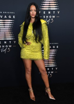 Rihanna's Savage X Fenty Show Vol. 3 presented by Amazon Prime Video - Step and Repeat