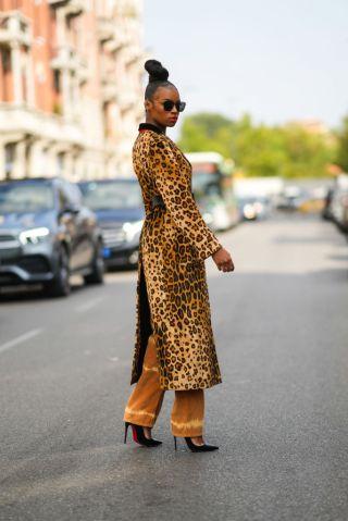 Street Style - Day 3 - Milan Fashion Week - Spring / Summer 2022