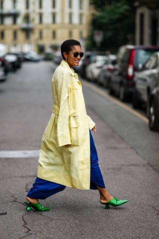 Street Style - Day 5 - Milan Fashion Week - Spring / Summer 2022