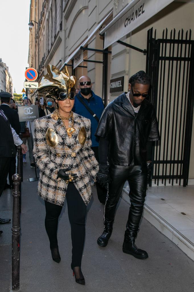 Celebrity Sightings In Paris - September 29, 2021