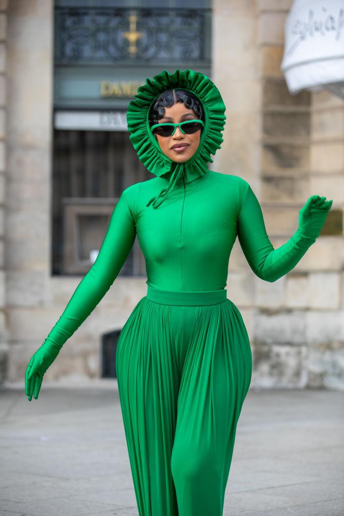 Celebrity Sightings In Paris - October 3, 2021