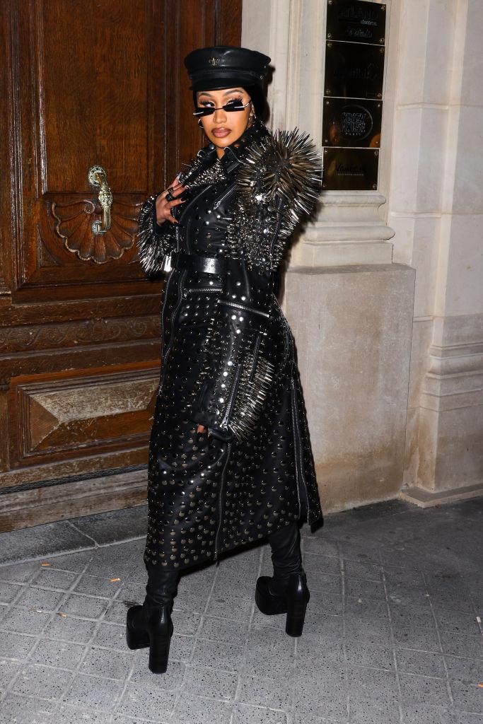 Celebrity Sightings In Paris - September 30, 2021