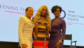 Mary J Blige Breast Cancer panel