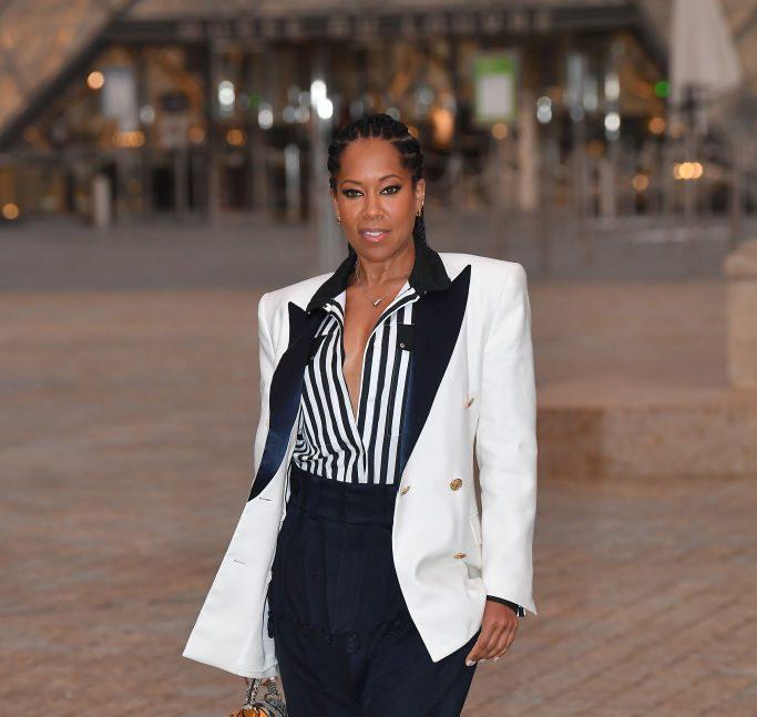 Louis Vuitton : Outside Arrivals - Paris Fashion Week - Womenswear Spring Summer 2022