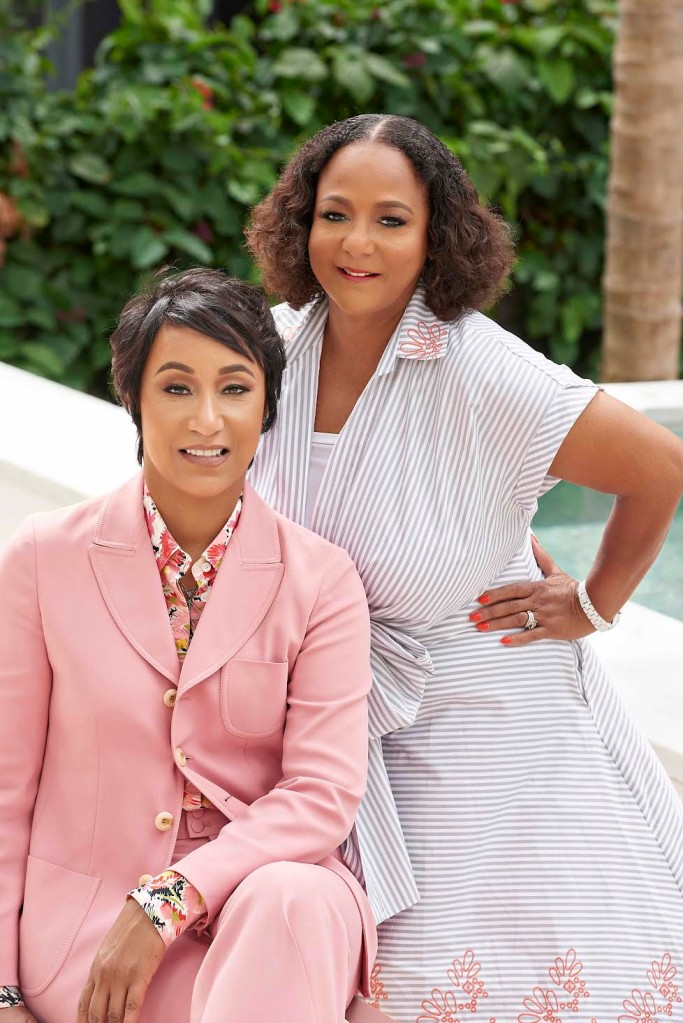 Desiree Rogers and Cheryl Mayberry McKissack