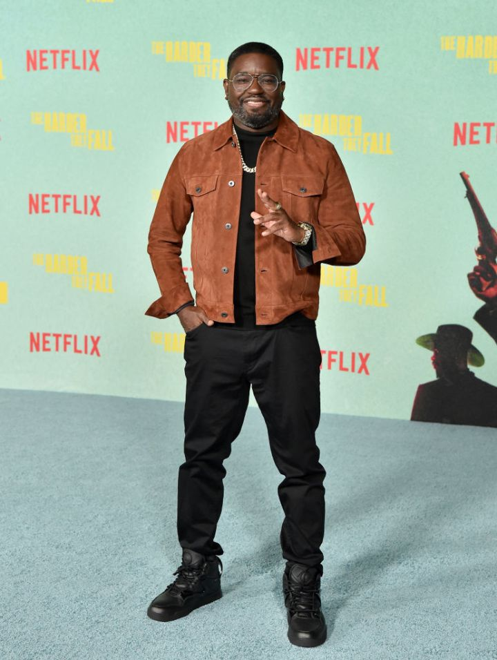 """Lil Rel Howery at the Los Angeles Premiere Of """"The Harder They Fall"""""""