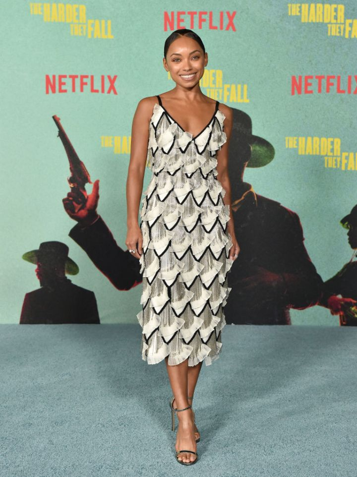 """Logan Browning at the Los Angeles Premiere Of """"The Harder They Fall"""""""