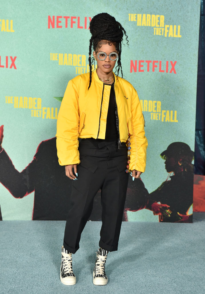 """Teyana Taylor at the Los Angeles Premiere Of """"The Harder They Fall"""""""