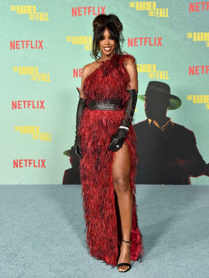 """Kelly Rowland at the Los Angeles Premiere Of """"The Harder They Fall"""""""