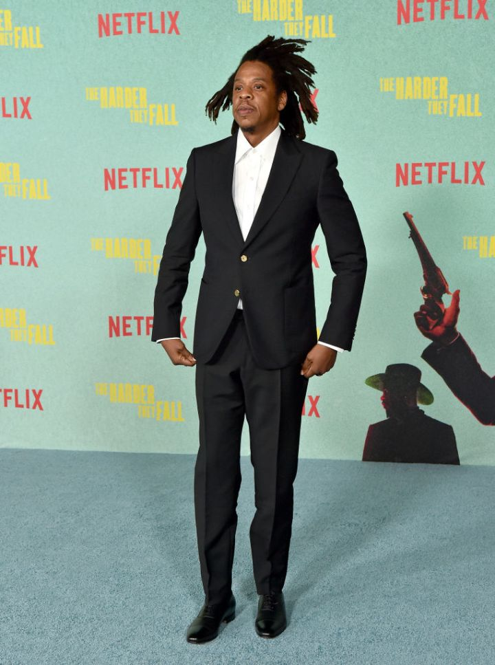 """Jay-Z at the Los Angeles Premiere Of """"The Harder They Fall"""""""