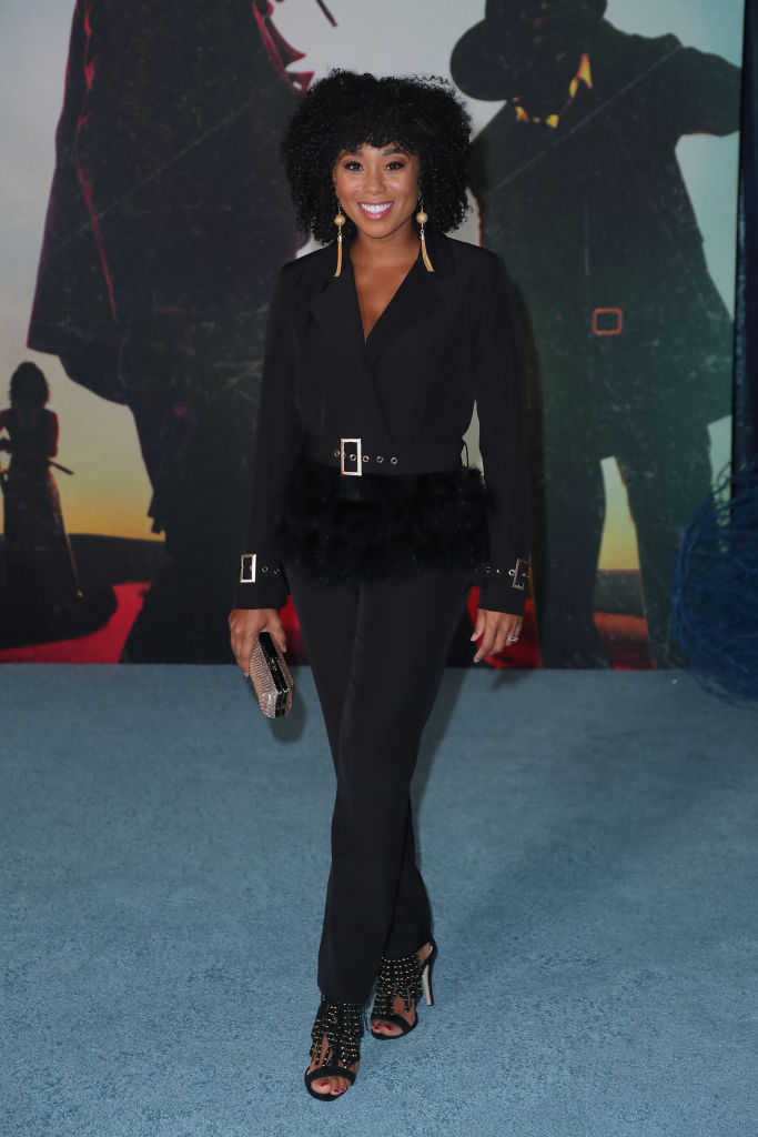 """Zee James at the Los Angeles Premiere Of """"The Harder They Fall"""""""