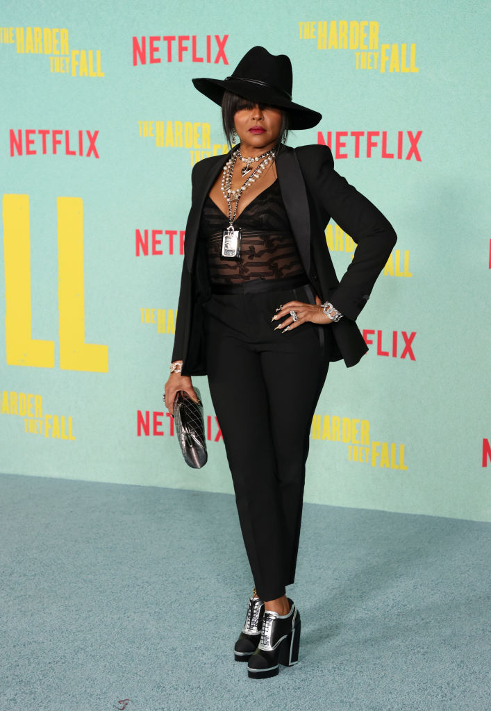 """Taraji P. Henson at the Los Angeles Premiere Of """"The Harder They Fall"""""""