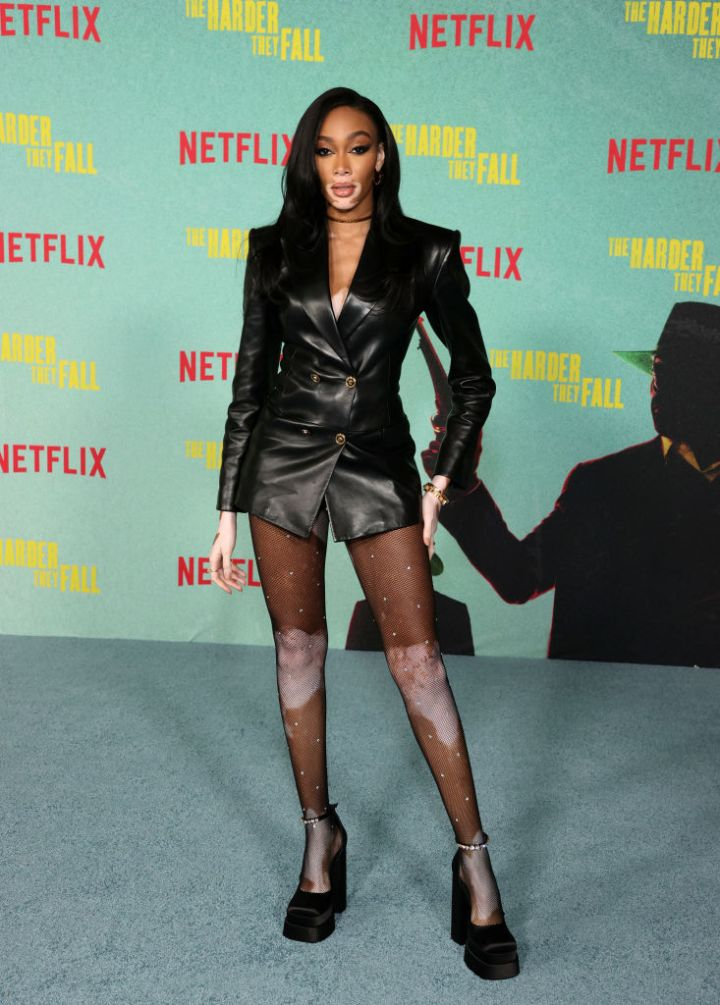 """Winnie Harlow at the Los Angeles Premiere Of """"The Harder They Fall"""""""