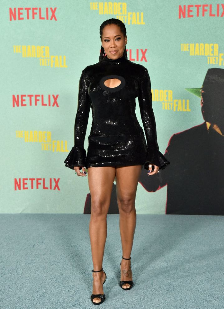 """Regina King at the Los Angeles Premiere Of """"The Harder They Fall"""""""