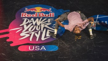 Don Soup competes at Red Bull Dance Your Style National Finals